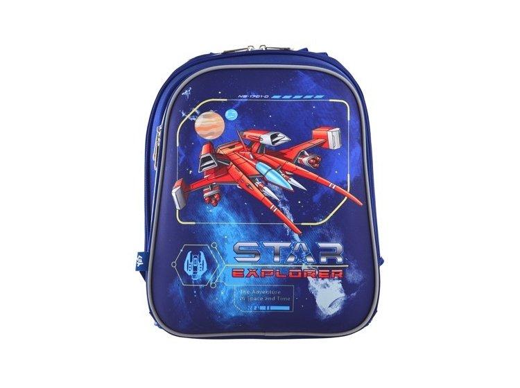 Рюкзак каркасный 1 Вересня. H-12 Star Explorer