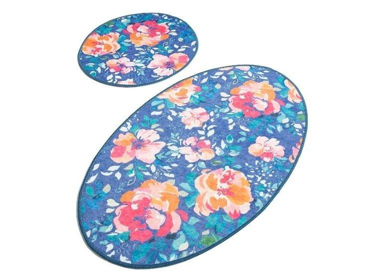 Набор ковриков для ванной Chilai Home. Flowers Djt