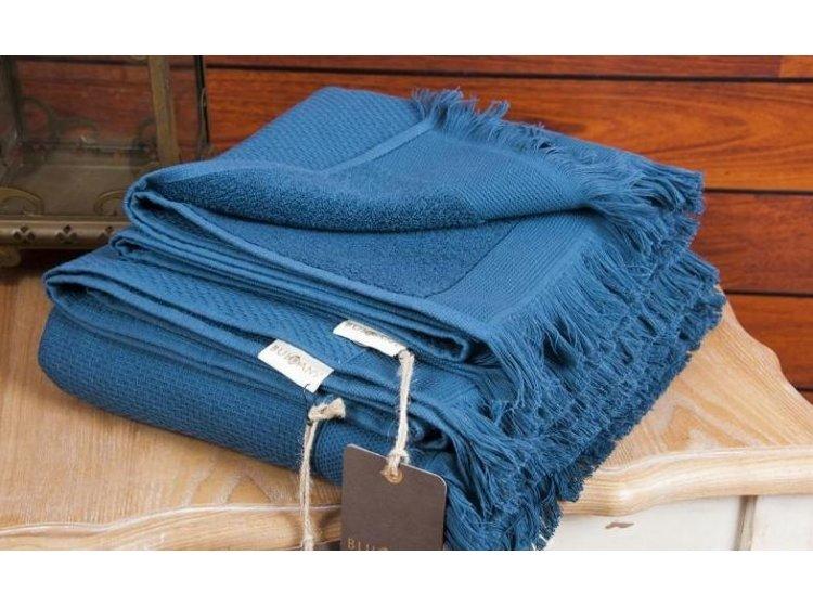 Махровое полотенце Buldans. Siena Midnight Blue