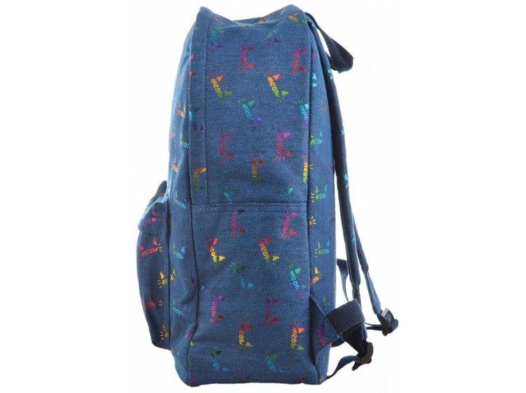 Рюкзак молодежный YES. ST-18 Jeans Meow