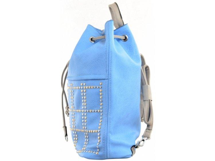 Рюкзак молодежный YES Weekend. YW-26 голубой