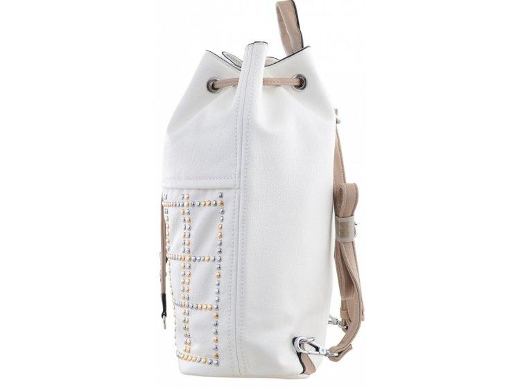 Рюкзак молодежный YES Weekend. YW-26 белый