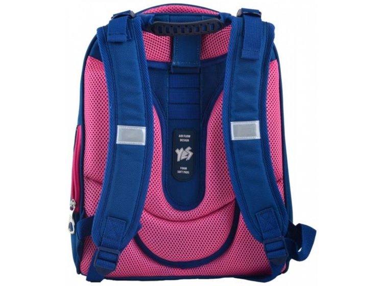 Рюкзак каркасный 1 Вересня. H-12-1 Butterfly