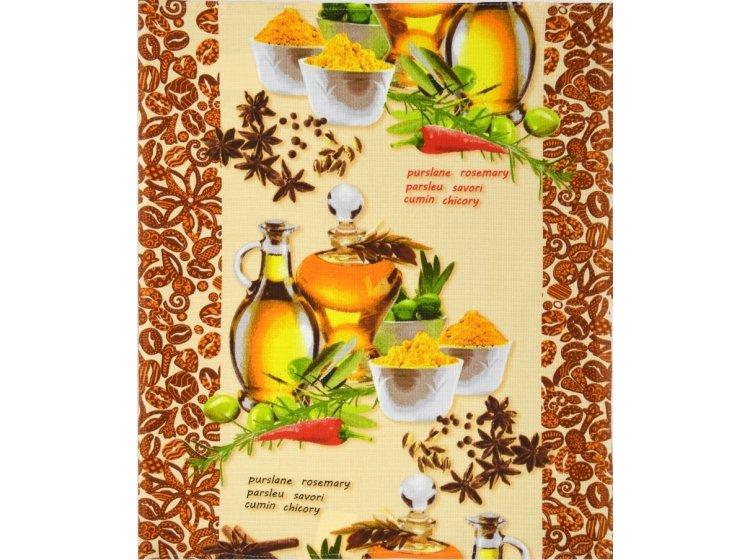 Вафельное кухонное полотенце Home Line. 135188