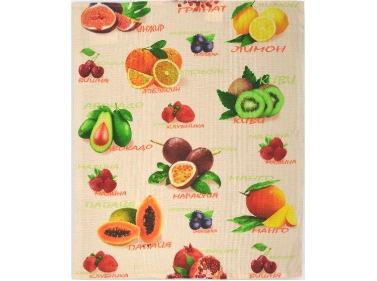 Вафельное кухонное полотенце Home Line. 135551