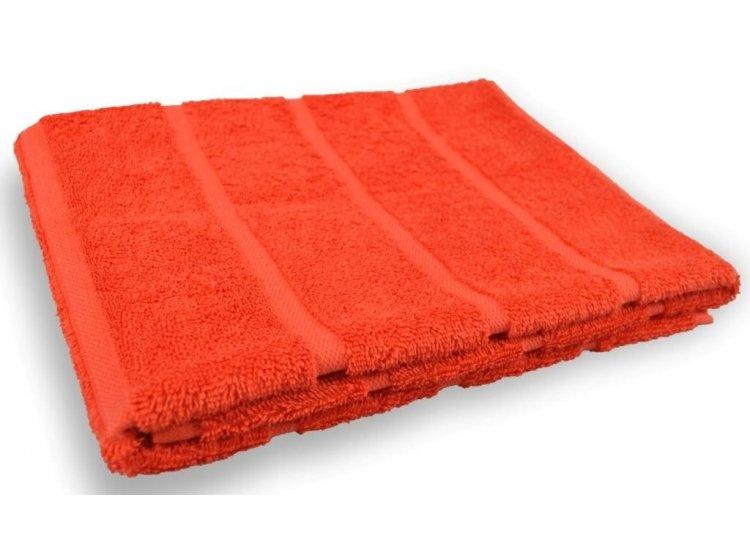 Полотенце махровое Home line. Адель коралловое