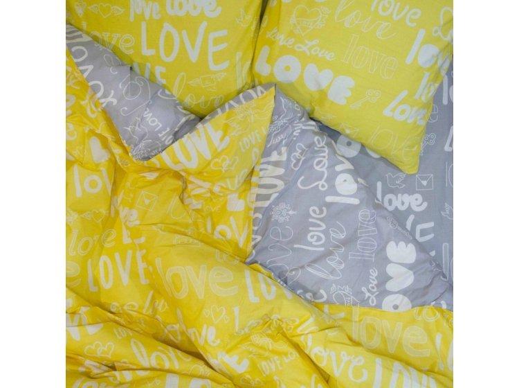 Постельное белье Viluta. 17148 желтый