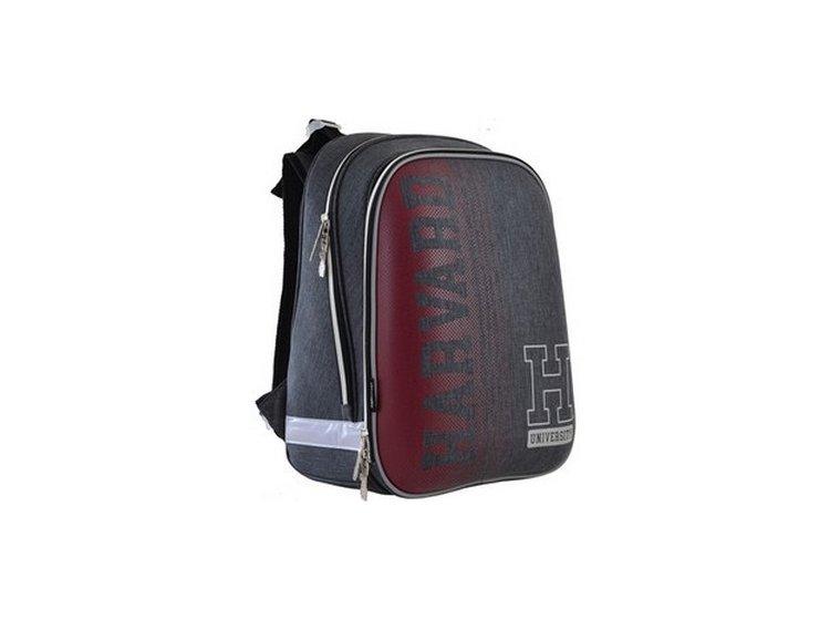 Рюкзак школьный каркасный YES. H-12 Harvard