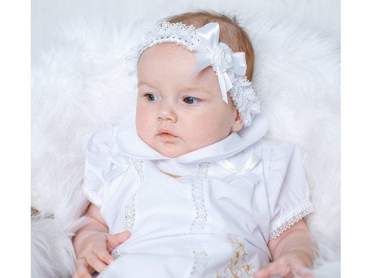 Платье крестильное Mimino baby. Машенька золото