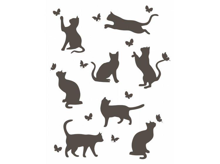 Хлопковый плед LightHouse. Meow бежевый