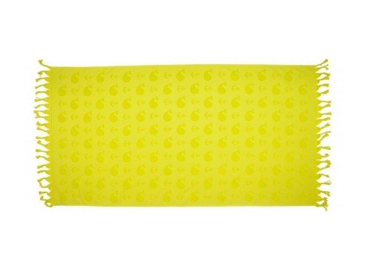Махровое полотенце Barine. Whale lime