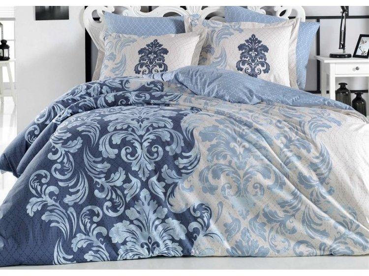 Постельное белье Hobby FLANNEL. Mirella синее