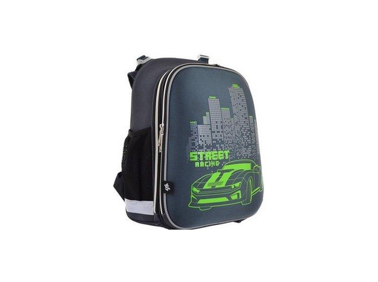Рюкзак школьный каркасный YES. H-12 Street Racing