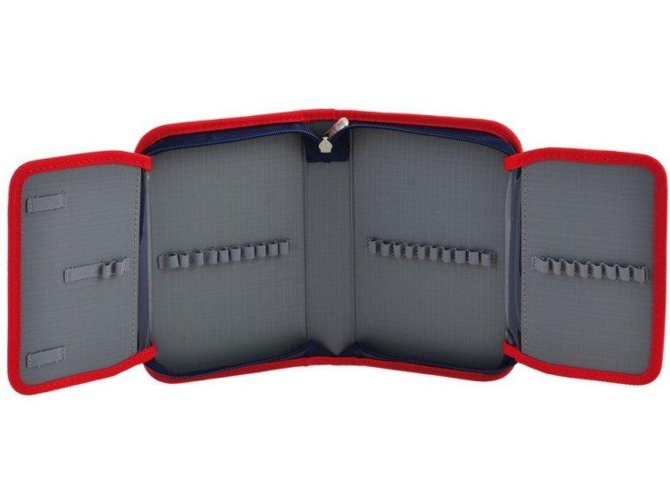 Пенал твердый одинарный с двумя клапанами YES. HP-04 Cars, 13,5смх4см