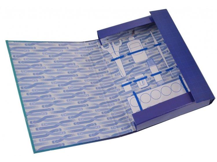 Папка для труда картонная 1 Вересня. A4 Cars