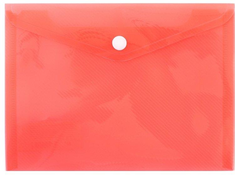 Папка-конверт на кнопке YES. В6 Bright в ассортименте