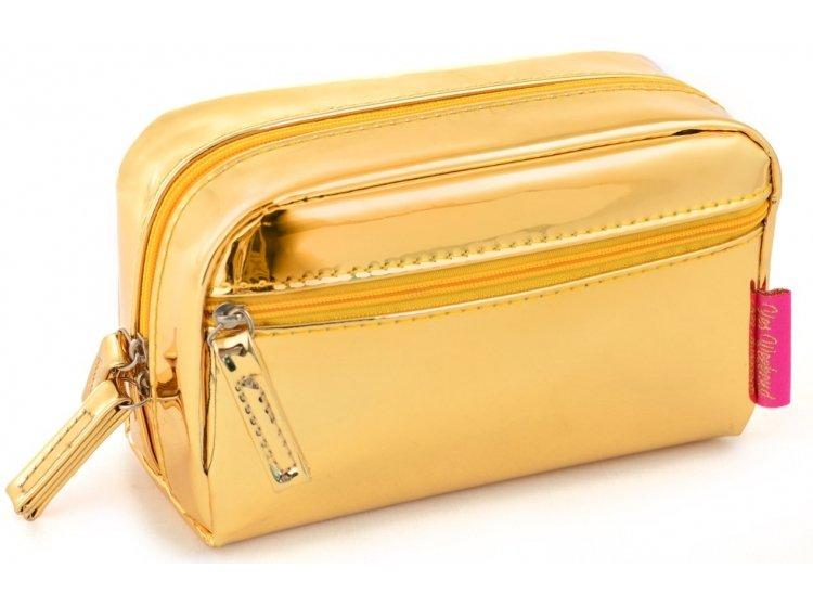 Косметичка YES. YW-50 Гламур золото