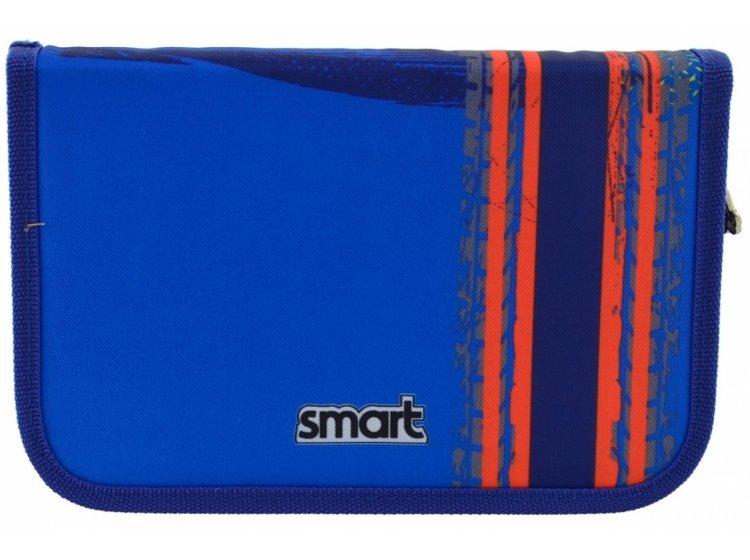 Пенал твердый одинарный без клапана Smart. HP-02 Big Wheels, 13смх3,2см