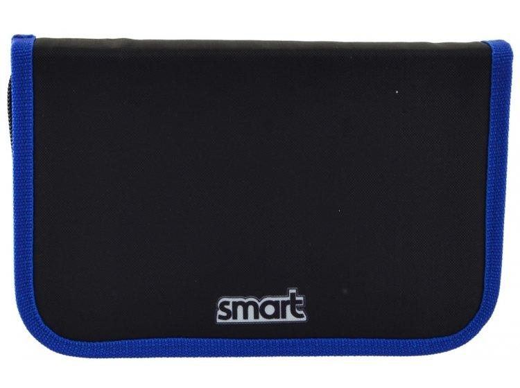 Пенал твердый одинарный с клапаном Smart. HP-03 Speed 4*4, 13смх3,6 см