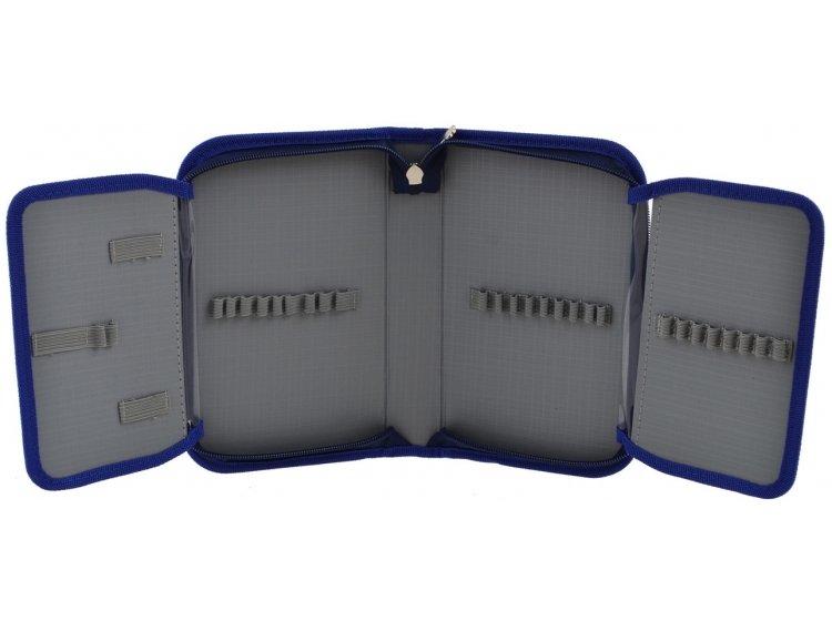 Пенал твердый одинарный с двумя клапанами Smart. HP-04 Smart Style, 13смх3,6см