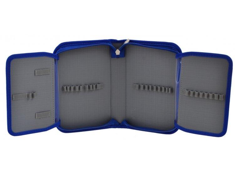 Пенал твердый одинарный с двумя клапанами Smart. HP-04 Power 4*4, 13смх3,6см