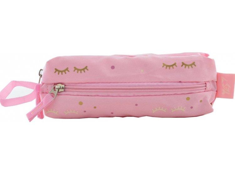 Пенал мягкий YES. TP-07 Dots pink