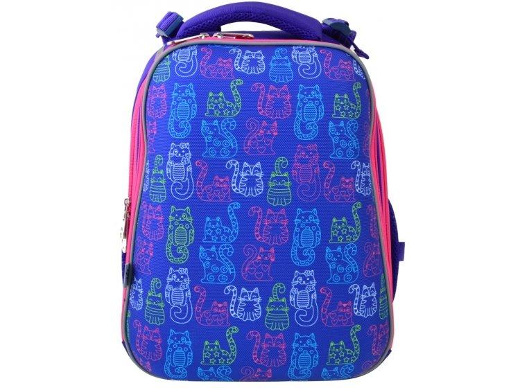 Рюкзак каркасный YES. H-12-1 Kotomaniya blue
