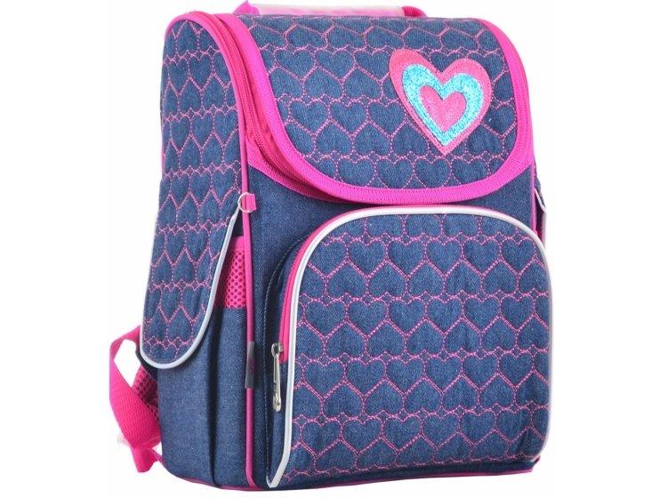 Рюкзак каркасный YES. H-11 Hearts blue