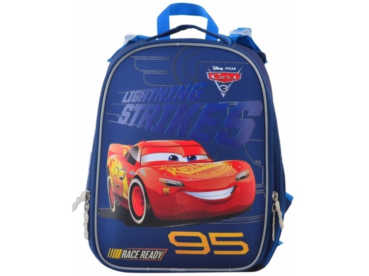 Рюкзак каркасный 1 Вересня. H-25 Cars