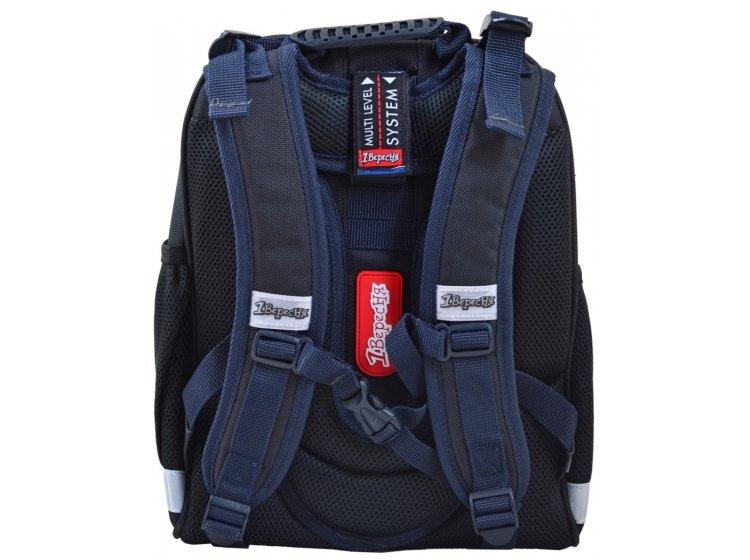 Рюкзак каркасный 1 Вересня. H-12 Steel Force