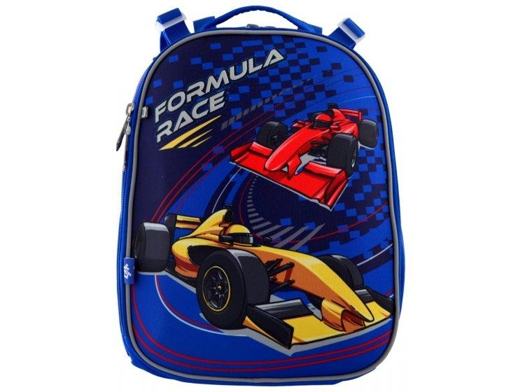Рюкзак школьный каркасный YES. H-25 Formula Race