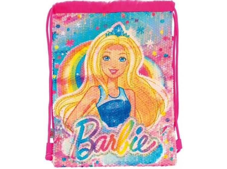 Сумка-мешок детская YES. DB-11 Barbie Sequins