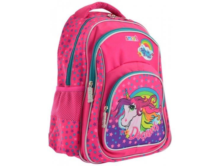 Рюкзак школьный Smart. ZZ-01 Unicorn