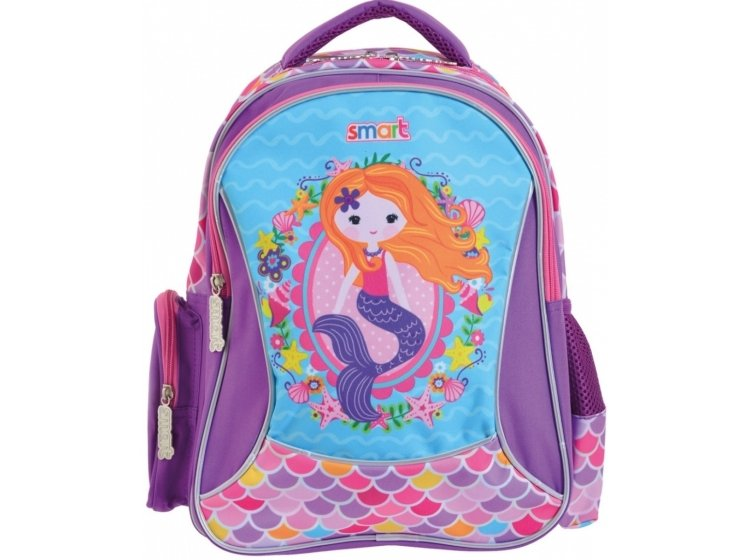 Рюкзак школьный Smart. ZZ-02 Mermaid