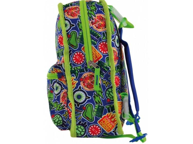 Рюкзак детский двухсторонний YES. K-32 Tmnt