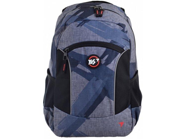 Рюкзак молодежный YES. T-39 Graphite