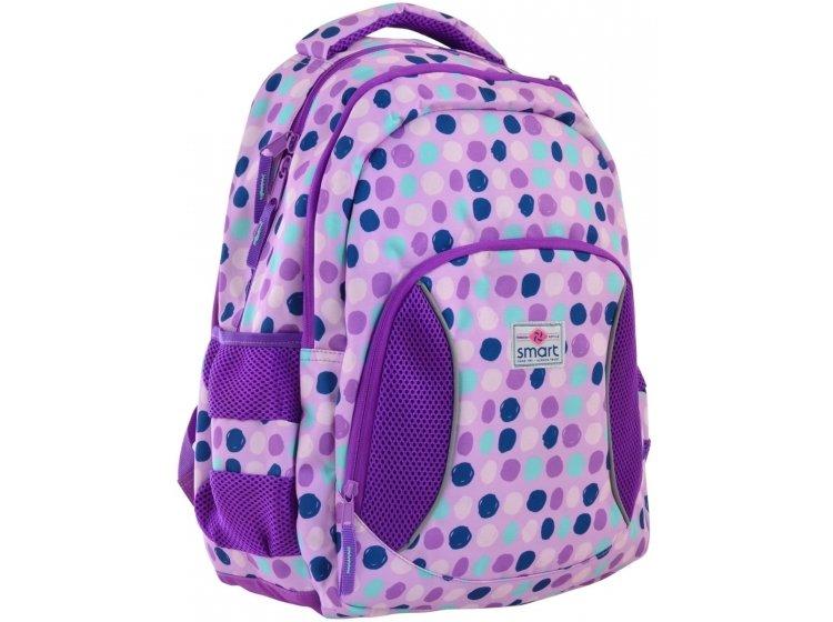 Рюкзак школьный Smart. SG-25 Violet spots