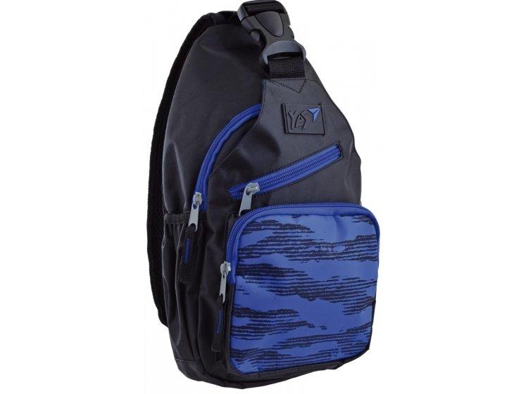 Рюкзак молодежный на одной лямке YES. Indigo