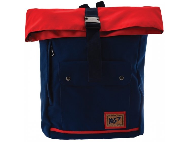 Рюкзак городской YES. Roll-top T-57 Blue