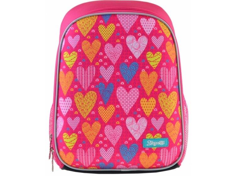 Рюкзак каркасный 1 Вересня. H-27 Sweet heart