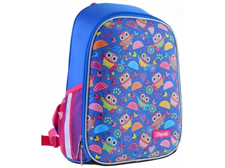 Рюкзак каркасный 1 Вересня. H-27 Owl party