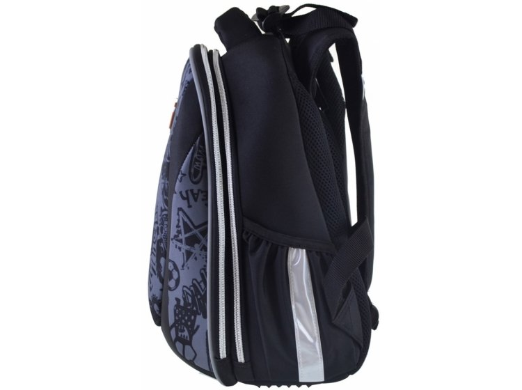 Рюкзак школьный каркасный YES. H-28 Funny monster