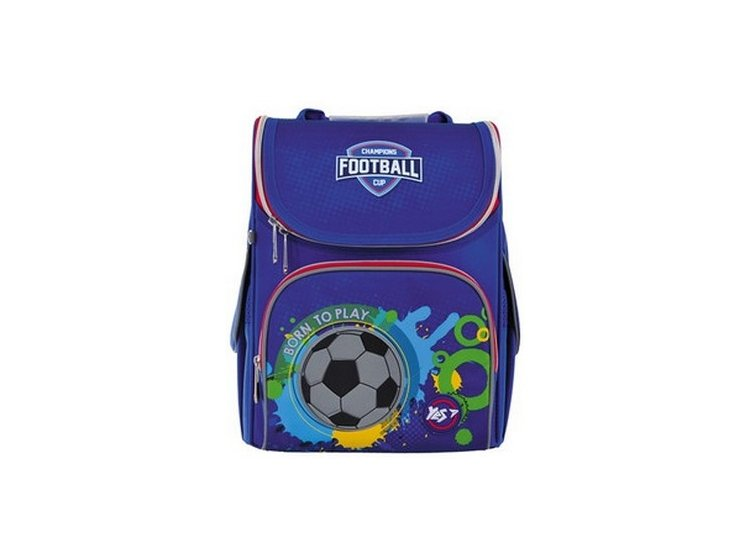 Рюкзак школьный каркасный YES. H-11 Born To Play