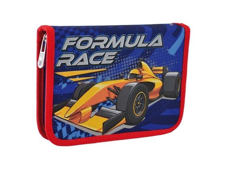 Пенал твердый одинарный с клапаном YES. HP-03 Formula Race, 14смх3,2см