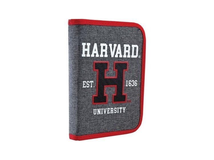 Пенал твердый одинарный с клапаном YES. HP-03 Harvard, 14смх3,2см