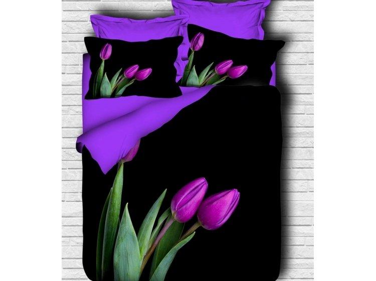Постельное белье LightHouse. 3D Royal Tulip