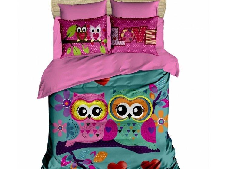 Постельное белье LightHouse. 3D Owls in love