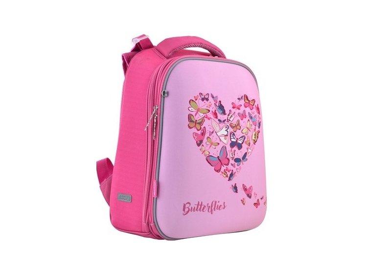Рюкзак каркасный 1 Вересня. H-12 Delicate butterflies