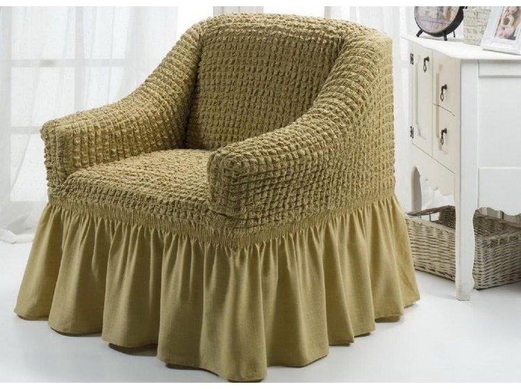 Чехол для кресла Arya. Burumcuk бежевого цвета