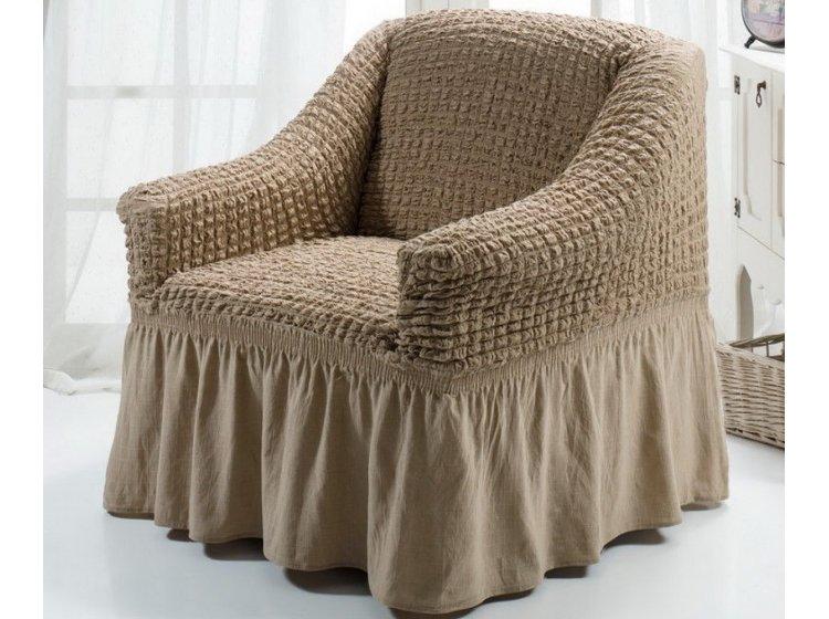 Чехол для кресла Arya. Burumcuk слоновая кость